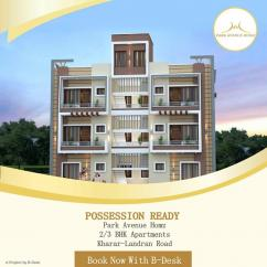 2 BHK  ready to move flats in kharar