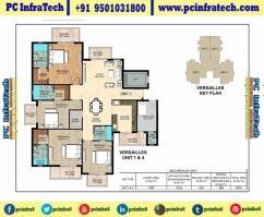 Ambika Mohali 3 Bhk La Parisian Apartments 95O1O318OO
