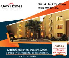 Ready To Move apartment In Electronic City