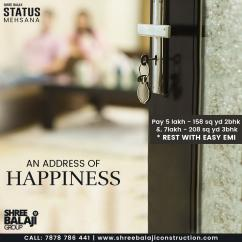 Live a Lavish Lifestyle at Shree Balaji Status