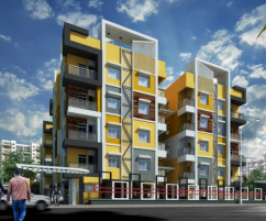 New 2 BHK Flat for Sale in Salt Lake City, Kolkata at Meena Orchid
