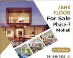 8 MArla 2BHK Top Floor For Sale in Mohali Phase-7