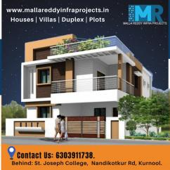 Duplex houses for sale in Kurnool Malla Reddy Infra Projects