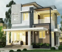 3 Bds - 2 Ba - 900 ft2 Affordable 3bhk home palakkad