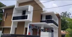 8.5 cent Plot With 2500 Sq. Ft 4BHK House In Kollam Mevaram