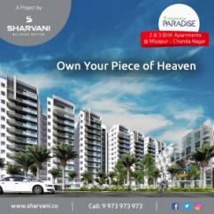 Gated Community 2BHK Flats for sale in Chandanagar, Hyderabad Sharvani Venture