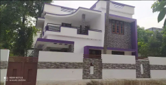 5 Cent Plot With 1350 Sq. Ft 3 BHK House Sale In Decent mukku