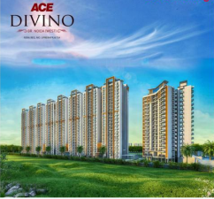 Buy 2/3 BHK ACE Divino Premium apartments & Penthouse in Greater Noida