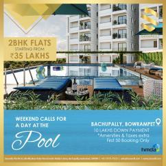 2BHK Apartments in Bowrampet Sanarelli