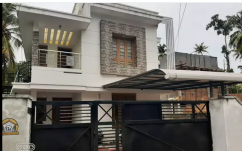 5.5Cent Plot 2000 SqFt 4 Bhk House In Thangasherry Near Bishop House