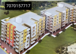 3 bhk flat with parking   1750 per sq.feet
