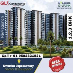 Call 9582821821 for Diplomats golf link sector 110 Gurgaon