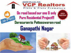 Fully Pakka Or Purely Residential Plots.