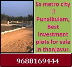 DTCP Approved Plots Available at SS METRO CITY in THANJAVUR.