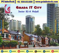 Gmada IT City Mohali, IT City Mohali Plots in resale 95O1O318OO