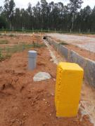 Site For sale near Hennur to Bagalur Main Road