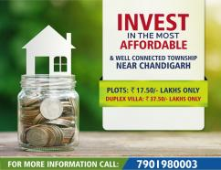 Freehold Residential Plots with immediate Possession, Mohali