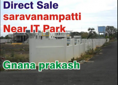 saravanampatti  Near Keranatham IT Park Site and House For Sale