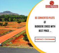 DC conversion plots for sale at Budigere Cross