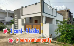 Dtcp approved plots in saravanampatty near IT PARK
