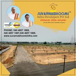HMDA Approved plots for sale - Suvarnabhoomi Infra Developers