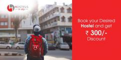 Best online hostels booking in city