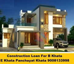B Khata Home Loan For Construction Of House Apply 9008133998