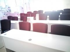 We have 2 Meeting rooms with capicity of 2-8 each, 3 Training Halls