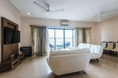 3 bhk furnished service apartment for rent in Nerul Navi Mumbai