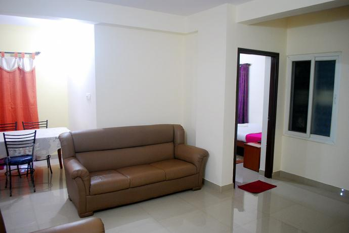 2BHK Service Apartment in kodihalli Locality in Indranagar