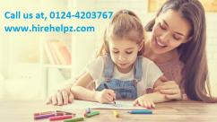 Our nannies are very professional and experienced in taking care of your child.