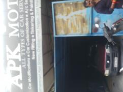 Apk car mechanic shed service center in Ramauram