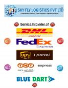 AIR INTERNATIONAL COURIER SERVICE DHL FEDEX UPS TNT CHEMICAL COURIER