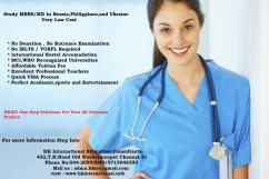 Study MBBS  In Philippines , Russia , Ukraine at Very Low Cost