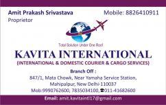 KAVITA INTERNATIONAL SHIPPING CARGO SERVICES