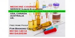 Ayurvedic Medicine Courier All Punjab Chandigarh to USA Canada UK Australia