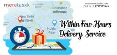 Fastest courier service in Delhi NCR by Meratask