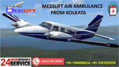 Avail Emergency Shifting by Medilift Air Ambulance Service in Kolkata