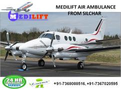 Book Medilift Air Ambulance Service in Silchar with Cost-effective Price