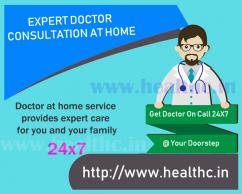 General Physician Service at Home in Hyderabad, On Call Doctor Home Visit