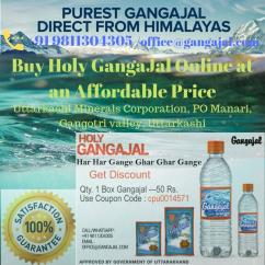 Buy Holy GangaJal Online at an Affordable Price