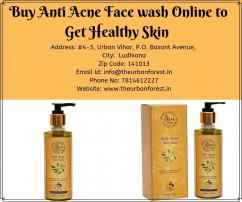 Buy Anti Acne Facewash Online to Get Healthy Skin By The Urban forest