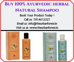 Buy  Ayurvedic herbal Natural Shampoo The Urban Forest
