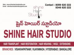Shine Hair studio Hair Replacement Wigs