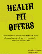 Great health check-ups with specialized options in best prices.