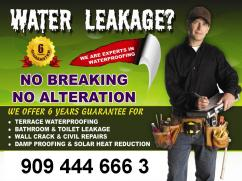 MR FIXIT for WATERPROOFING, WALL CRACK & CIVIL RESTORATIONS