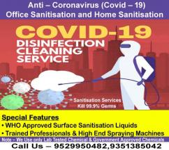 Sanitisation Services for Office and Home-  Sanitization Services for Office and