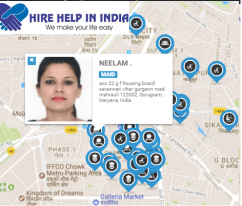Hire your nanny online within 60 second at, www.hirehelpz.com