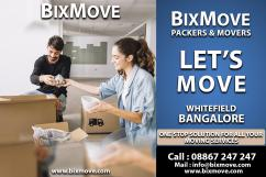 Packers Movers whitefield, Bangalore