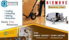 BIXMOVE PACKERS AND MOVERS MANAPAKKAM